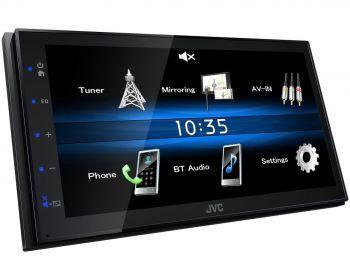 JVC KW-M25BT Lyhytrunkoinen Bluetooth Multimediasoitin