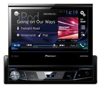 "Pioneer AVH-Z7200DAB 7"" DVD DSP Bluetooth Multimediasoitin"
