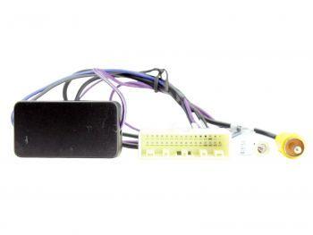CAM-NS2-RT Nissan alkuperäinen peruutuskamera jälkiasennettuun autosoittimeen adapteri