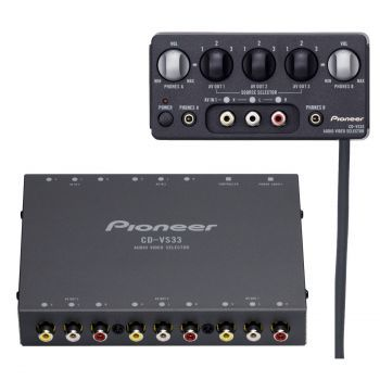 Pioneer CD-VS33 3-kanavainen AV valitsin