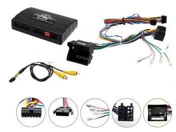 VW CTUVW02 Rattisäädinadapteri + infoadapteri