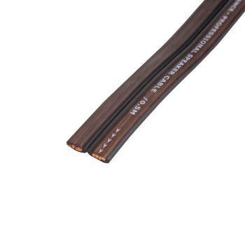 KICX FC-1250 litteä Kaiutinkaapeli 2 x 3.31mm2 kupari (ofc)
