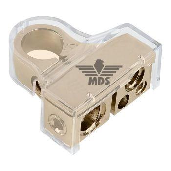 MDS BTx50N akkukenkä miinus (-) 1x50mm2 ja 1x20mm2 ja 2x10mm2