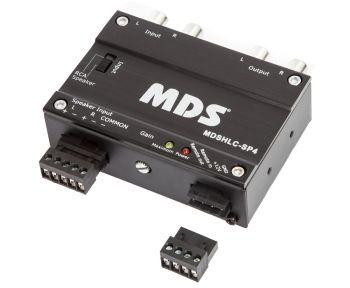 MDS HLC-SP4 aktiivinen 0-10.5V säädettävä 2-kanavainen linjamuunnin