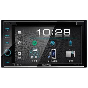 Kenwood DDX4019BT DSP aikaviive Bluetooth DVD multimediasoitin