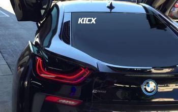 KICX Tarra - irtokirjaintarra