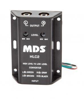MDS HLC2 Säädettävä 2-kanavainen linjamuunnin