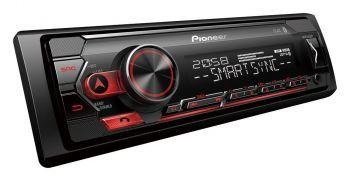 Pioneer MVH-S420BT pesätön DSP aikaviive Bluetooth mediasoitin