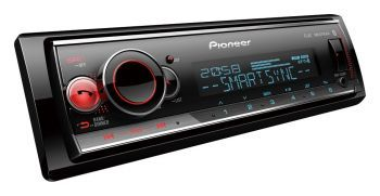 Pioneer MVH-S520BT pesätön DSP aikaviive Bluetooth mediasoitin