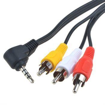 3.5mm plugi – 3 x RCA AV 1.5m Aux Adapteri