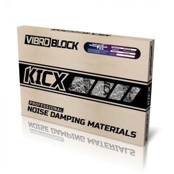 KICX Space 2.6 Butyylikumi / alumiin vaimennusmatto 2.75mm x 3.6m2
