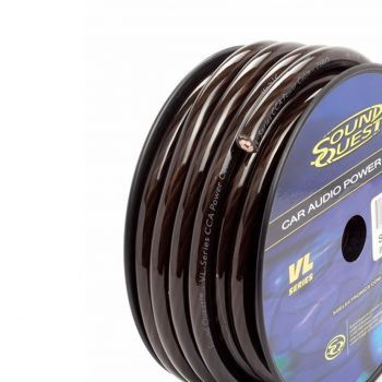 Stinger SQVLP8B seos (CCA) virtakaapeli 8.5mm2 kirkas musta