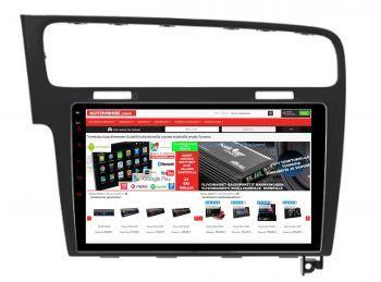 VW Golf 7 - 10.1 tuuman Android 8.1 Navigointi, Multimediasoitin