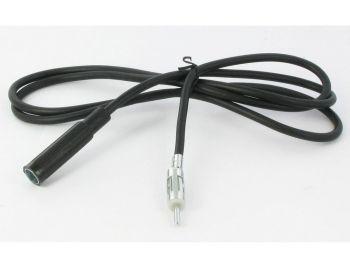 CT27UV06 DIN uros – DIN naaras 1 metrin antennin jatkokaapeli
