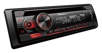 Pioneer DEH-S320BT Bluetooth DSP aikaviive autosoitin