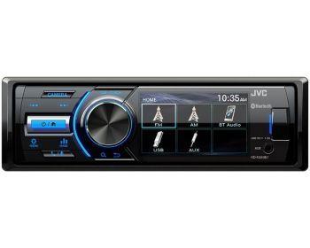 JVC KD-X560BT pesätön tidsfördröjning DSP Bluetooth mediaspelare