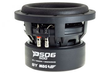 MDS Predator PS06 500D4 - 6.5 tuuman / 17cm subwoofer elementti