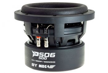MDS Predator PS06 500D2 - 6.5 tuuman / 17cm subwoofer elementti